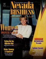 Nevada Business Magazine April 2001 View Issue