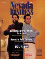 Nevada Business Magazine April 2002 View Issue