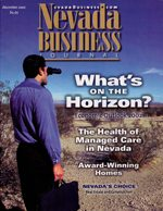 Nevada Business Magazine December 2001 View Issue