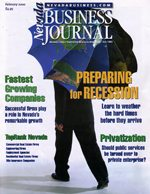 Nevada Business Magazine February 2000 View Issue