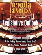 Nevada Business Magazine January 2001 View Issue