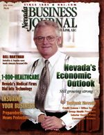 Nevada Business Magazine July 2000 View Issue
