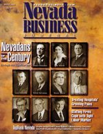 Nevada Business Magazine March 2001 View Issue