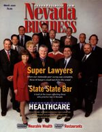 Nevada Business Magazine March 2002 View Issue