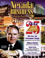 Nevada Business Magazine May 2001 View Issue