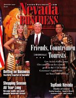 Nevada Business Magazine November 2000 View Issue