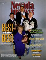 Nevada Business Magazine November 2001 View Issue
