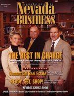 Nevada Business Magazine November 2002 View Issue