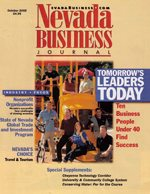 Nevada Business Magazine October 2002 View Issue