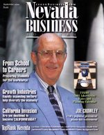 Nevada Business Magazine September 2000 View Issue