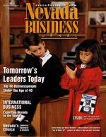 Nevada Business Magazine September 2001 View Issue