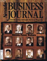 Nevada Business Magazine November 1996 View Issue