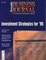 Nevada Business Magazine July 1995 View Issue