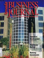 Nevada Business Magazine April/May 1996 View Issue