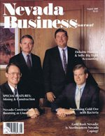 Nevada Business Magazine August 1989 View Issue