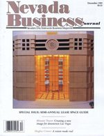 Nevada Business Magazine December 1989 View Issue