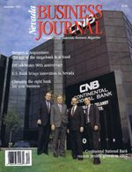 Nevada Business Magazine December 1992 View Issue