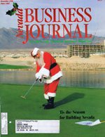 Nevada Business Magazine December 1996 View Issue
