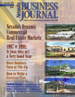 Nevada Busines Magazine December 1997 View Issue