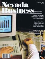 Nevada Business Magazine February 1989 View Issue