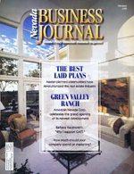 Nevada Business Magazine February 1995 View Issue