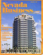 Nevada Business Magazine January 1987 View Issue