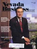Nevada Business Magazine January 1989 View Issue