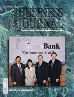 Nevada Business Magazine January 1996 View Issue