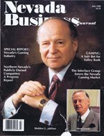 Nevada Business Magazine July 1989 View Issue