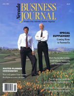 Nevada Business Magazine June 1992 View Issue