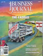 Nevada Business Magazine June 1994 View issue