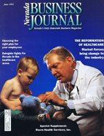Nevada Business Magazine June 1995 View Issue