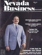 Nevada Business Magazine March 1987 View Issue