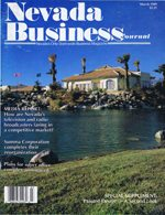 Nevada Business Magazine March 1989 View Issue