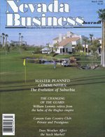 Nevada Business Magazine March 1990 View Issue