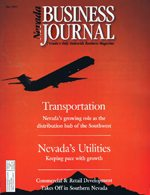 Nevada Business Magazine May 1995 View Issue