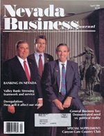Nevada Business Magazine April 1989 View Issue