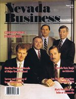 Nevada Business Magazine August 1990 View Issue