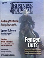 Nevada Business Magazine August 1999 View Issue