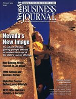 Nevada Business Magazine February 1999 View Issue