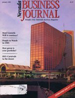 Nevada Business Magazine January 1991 View Issue
