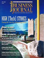 Nevada Business Magazine July 1999 View Issue