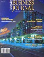 Nevada Business Magazine June 1991 View Issue