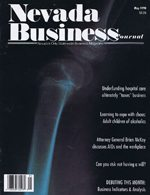Nevada Business Magazine May 1990 View Issue