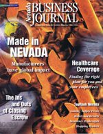 Nevada Business Magazine November 1998 View Issue