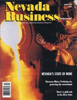 Nevada Business Magazine October View Issue