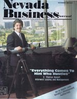 Nevada Business Magazine November 1986 View Issue