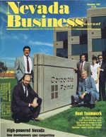 Nevada Business Magazine November 1987 View Issue