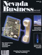 Nevada Business Magazine November 1988 View Issue