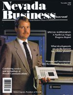 Nevada Business Magazine November 1989 View Issue